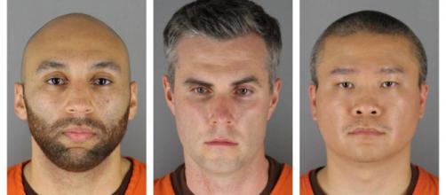 Justiça estadunidense determina o valor da fiança de três policiais envolvidos na morte de George Floyd. (Arquivo Blasting News)