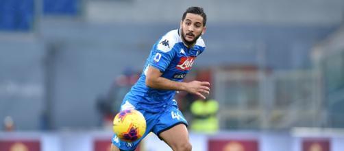 Napoli-Inter: Manolas salta la semifinale di Coppa Italia.