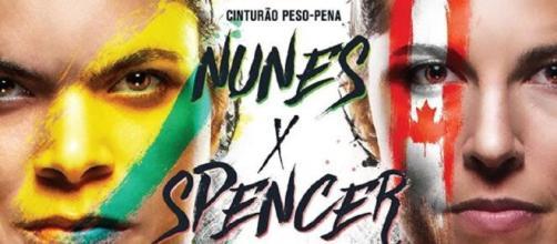 Poster do UFC 250. (Divulgação/UFC)