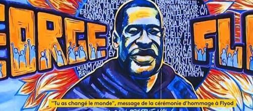 """VIDEOS. """"Tu as changé le monde"""" : un premier hommage poignant. Credit : Capture France info"""