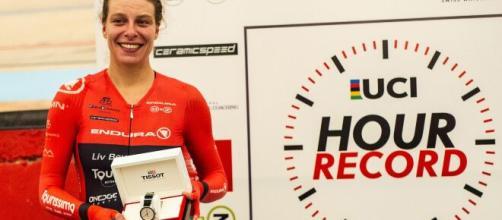 Vittoria Bussi detentrice del record dell'ora.