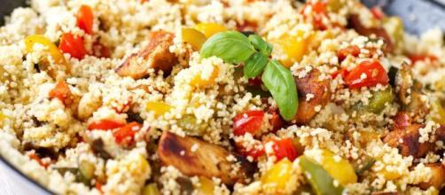 Couscous alla mediterranea, un piatto tunisino.