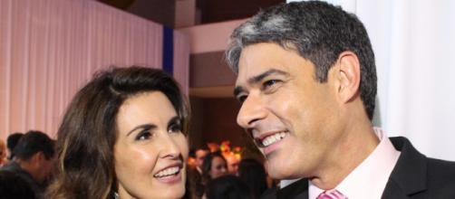 Fátima Bernardes já foi casada com William Bonner. (Arquivo Blasting News)