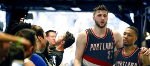 Jusuf Nurkic has yet to play this season. [Image Source: Flickr | Night Court]