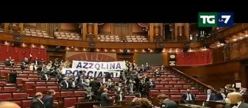 Mentana critica la Lega dopo le contestazioni ad Azzolina.