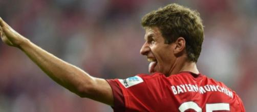 Thomas Muller, centrocampista offensivo del Bayern Monaco.