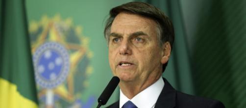 """Bolsonaro fala sobre ação de """"forças nada ocultas"""" para deslegitimar o seu governo. (Agência Brasil)"""