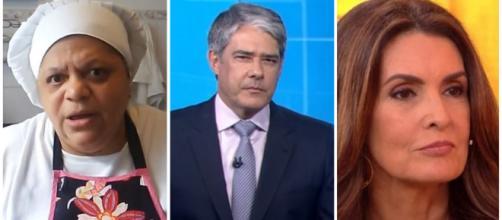 Ex-cozinheira de Fátima e Bonner expõe grosserias dos jornalistas. (Arquivo Blasting News)