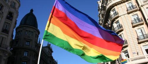 Imagen de la bandera del orgullo gay