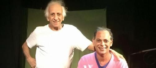 Flávio Migliaccio é um dos grandes nomes da televisão brasileira. (Reprodução/Facebook/@marcelomigliaccio)