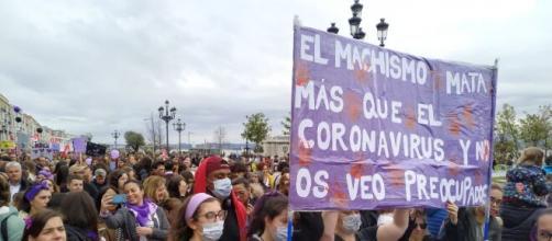 Imagen de archivo de la manifestación del 8M
