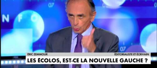 Après ses propos Eric Zemmour a fait rire internautes - photo capture d'écran Vidéo cnews