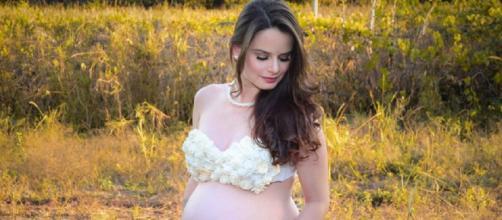 Larissa Blanco estava grávida de gêmeos e morreu após dar à luz aos filhos. Foto: Reprodução/ Facebook