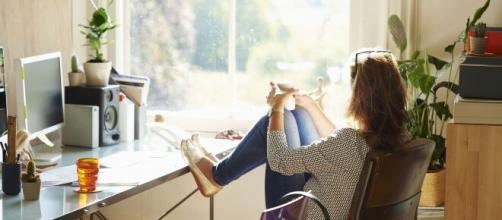 O conforto e a comodidade são algumas vantagens do home office. (Arquivo Blasting News)