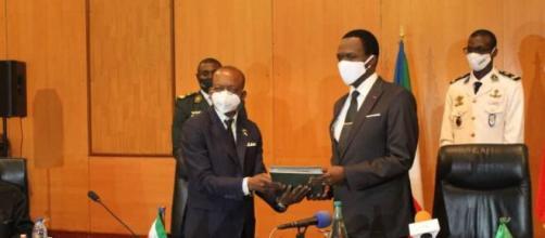 Réunion stratégique entre le Cameroun et la Guinée Equatoriale du 29 au 30 juin 2020 à Yaoundé (c) Mindef