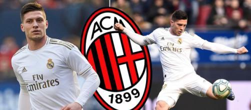 Il Milan starebbe puntando Luka Jovic del Real Madrid - foto di dailymail.co.uk.