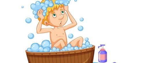 Dos baños diarios previenen la acumulación de gérmenes en la piel y en el cabello.