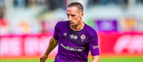 Football (Serie A) : Franck se fait allumer par un groupe de supporters de la Fiorentina - Photo Compte Instagram Ribéry