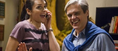 Mônica Iozzi e Dalton Vigh atuaram juntos em filme. (Reprodução/YouTube)