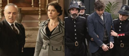 Una Vita trame spagnole: Liberto viene arrestato per colpa di Genoveva e Alfredo.