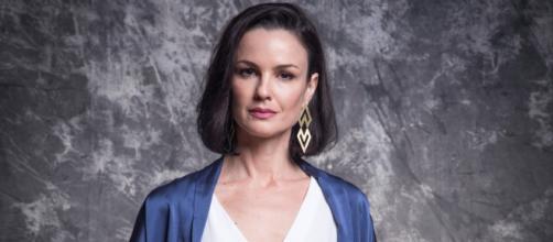 Carolina Kasting brilhou em 'Salve-se Quem Puder'. (Reprodução/TV Globo)