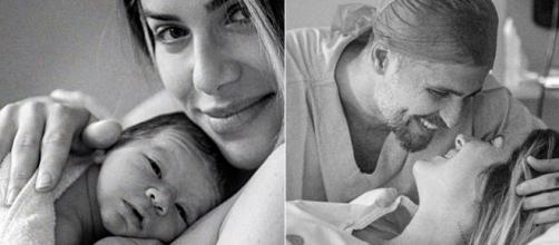 Giovanna Ewbnak e Bruno Gagliasso são criticado por postarem fotos de Zyan. (Reprodução/Instagram/@gioewbank)