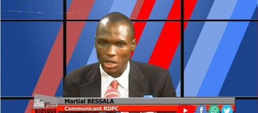 Martial Bessala, communicant du RDPC (c) Martial Bessala