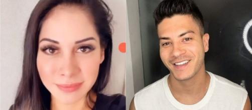 Mayra Cardi e Arthur Aguiar se separaram após traições por parte do ator. (Fotomontagem)