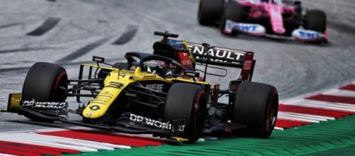Reclamo Renault contro Racing Point al Gran Premio di Stiria.