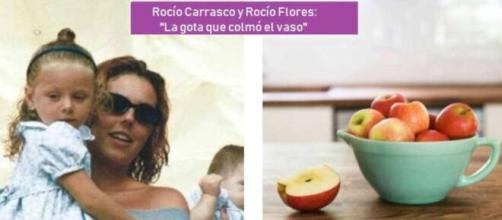 Rocío Flores y Rocío Carrasco en imagen