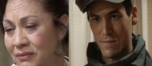 Una vita, spoiler spagnoli: Cinta abortisce, Santiago ritorna per vendicarsi.