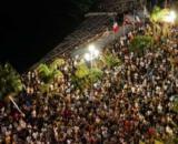 Le concert qui a été organisé à Nice créé la polémique - Photo capture d'écran twitter