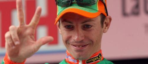Emanuele Sella al Giro d'Italia 2008.