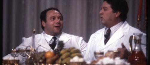 Renato Pozzetto in una scena del film '7 chili in 7 giorni'