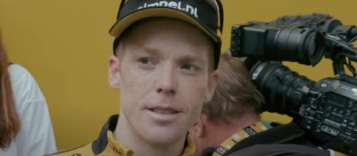 Steven Kruijswijk, uno dei tre leader della Jumbo Visma al Tour de France