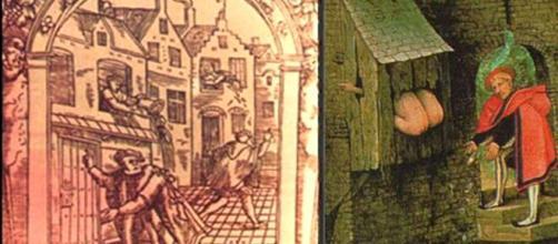A falta de serviços de saneamento básico na Idade Média originou o surgimento de grandes pandemias. Fonte: https://www.aquafluxus.com.br/