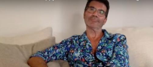 """""""America's Got Talent"""" Season 15 auditions turn into a pajama party for Simon Cowell and Heidi Klum in quarantine.[Image source:AGT-YouTube]"""