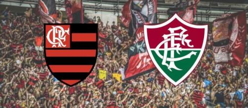 Flamengo x Fluminense: confronto ao vivo no SBT. (Arquivo Blasting News)
