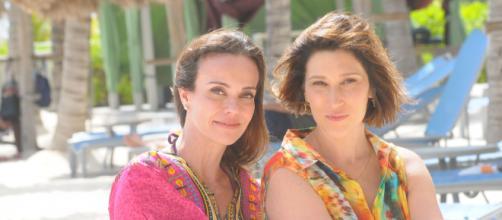 Flávia atuou em várias novelas. (Reprodução/RecordTV)