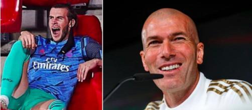 Zinédine Zidane n'en peut plus de l'attitude de Gareth Bale - Photo captures d'écran Instagram