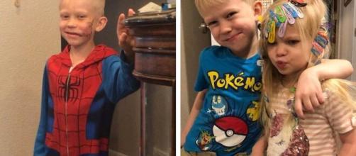 Bridger Walker, fan de super-héros devenu le héros de sa petite soeur après un acte de grande bravoure - capture Facebook