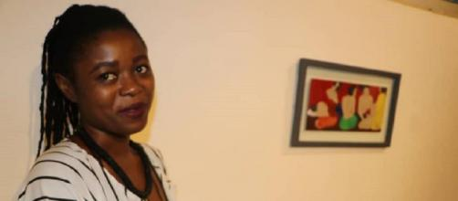 L'artiste Camerounaise Gabriella Badjeck (c) Gabriella Badjeck