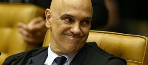 Ministro do STF Alexandre de Moraes. (Arquivo Blasting News)