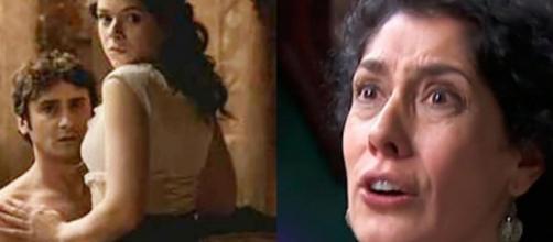 Una vita, spoiler spagnoli: Rosina appresa l'infedeltà di Liberto lo caccia di casa.