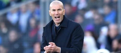 Zinedine Zidane, allenatore del Real Madrid.