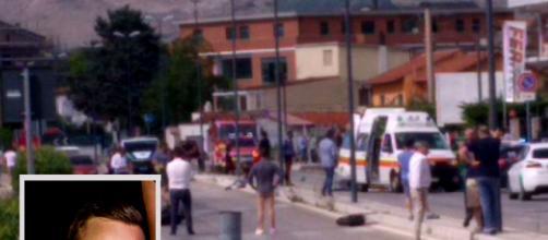 Avezzano, incidente in moto: supera l'auto dell'amico e si schianta, 27enne perde la vita