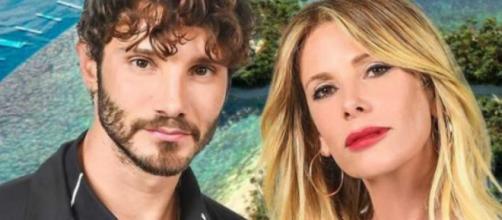 Stefano De Martino e Alessia Marcuzzi, ironia web citando Temptation: 'Se ti chiedono nega'.