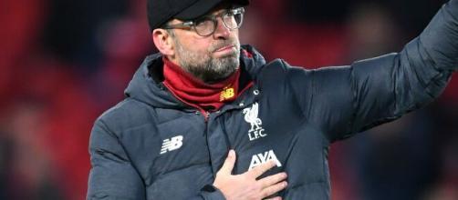 Klopp, allenatore del Liverpool.