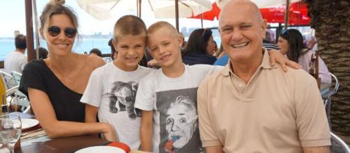 Pai da apresentadora Fernanda Lima faleceu neste sábado. (Arquivo Blasting News)