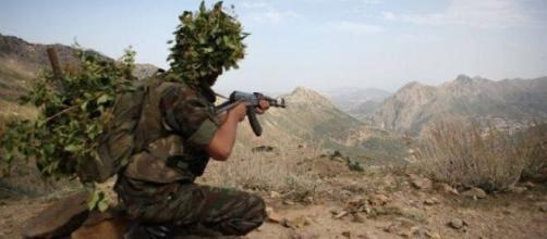 Photo d'un soldat de l'Armée nationale populaire. Crédit photo site web - radioalgerie.dz